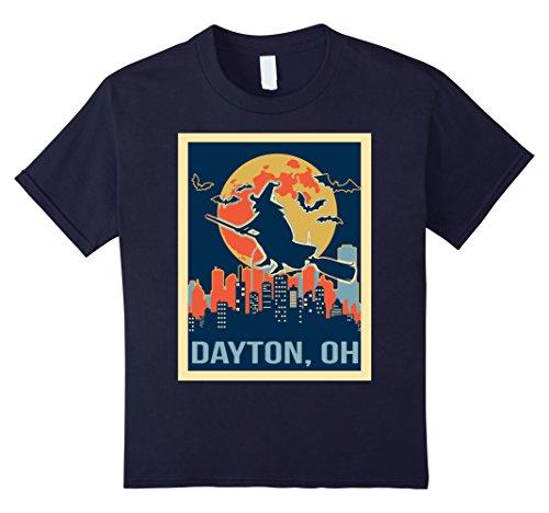 Halloween Dayton Ohio (Kids dayton Ohio halloween shirt 12 Navy)