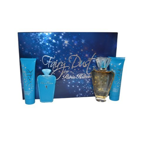 paris-hilton-fairy-dust-gift-set-100ml-edp-spray-90ml-shower-gel-90ml-body-lotion-mirror-and-by-pari