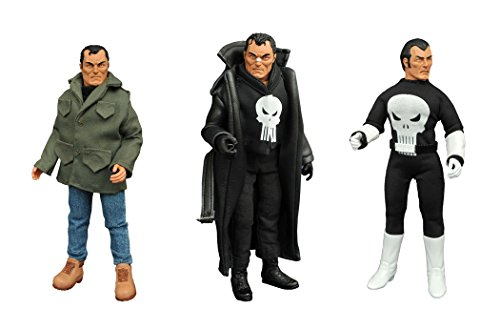 Diamond Select Toys Marvel Retro Cloth Punisher Action Figure Gift Set Action Figure