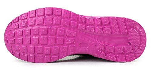 LILY999 Unisex Air Cushion Schuhe Laufschuhe Comfortable Sportschuhe Violett