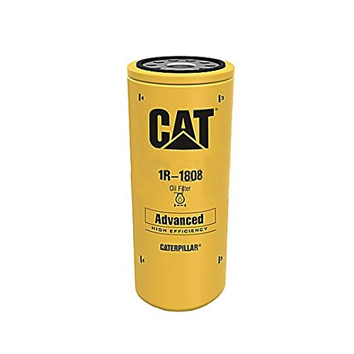 Caterpillar 1R1808 1R-1808 Engine Oil Filter Advanced High Efficiency Multipack (Pack of 2)