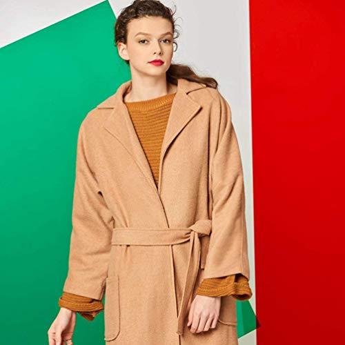 Fit Printemps Trench Young Unicolore Manteau Automne Femme Casual Longues Qualit De Haute Mode Styles Slim Classique BpxgHgRqw