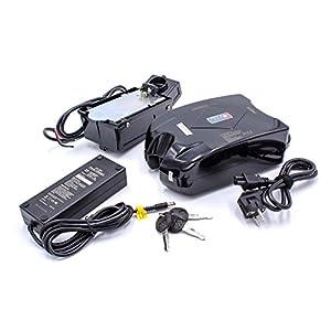41uechTv4uL. SS300 vhbw Li-Ion Batteria 10.4Ah (24V) per e-Bike Bici elettrica Incluso Caricabatterie/Supporto per Differenti e-Bike con…