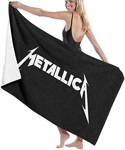 FSTGFFST - Toalla de playa/baño/pícnic de microfibra ultraabsorbente con diseño de Metallica para hombres, mujeres y niños: Amazon.es: Hogar