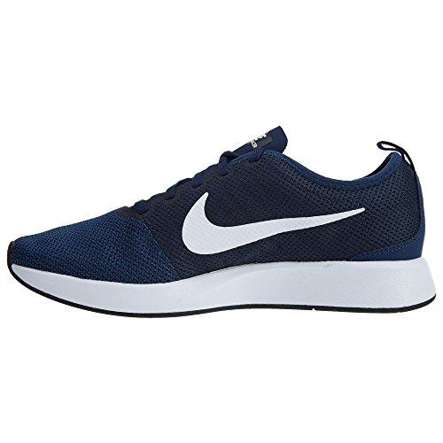 Nike Mens Dualtone Racer Avslappnad Sko Midnatt Marin / Vit