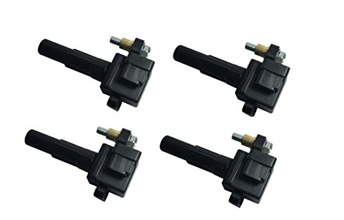 2002 Subaru Impreza Wrx Wagon (Ignition Coil Pack Set of 4 - Fits Subaru Impreza WRX, WRX Wagon - Replaces# 22433AA421-2002, 2003, 2004, 2005 models)