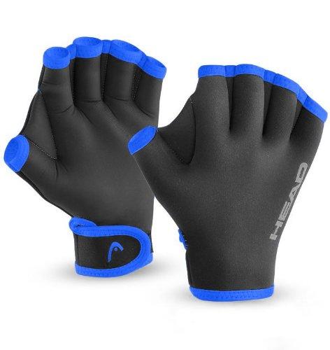 Head Swim Glove, Black Blue - Large