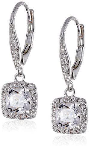 Anne Klein Flawless Cubic Zirconia Lever-Back Drop Earrings