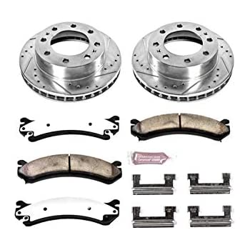 55056 FRONT Brake Rotor Pair of 2 Fits 00-05 Cadillac DeVille