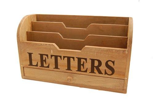 Gisela Graham Letter / Post Storage Box: Amazon.co.uk: Kitchen & Home