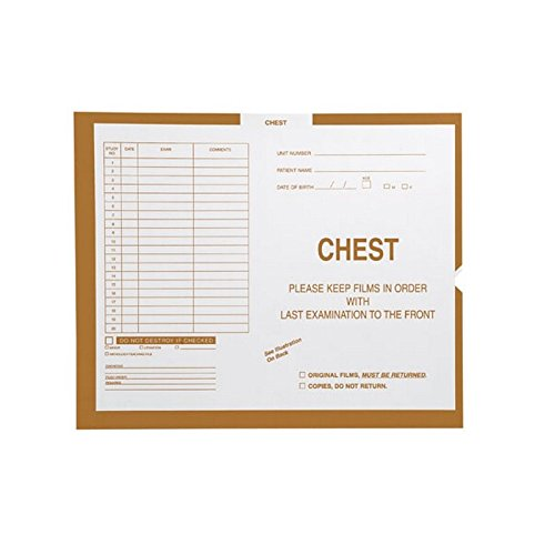 Chest, Briar #131 - Category Insert Jackets, System II, Open End - 14-1/4'' x 17-1/2'' (Carton of 250)