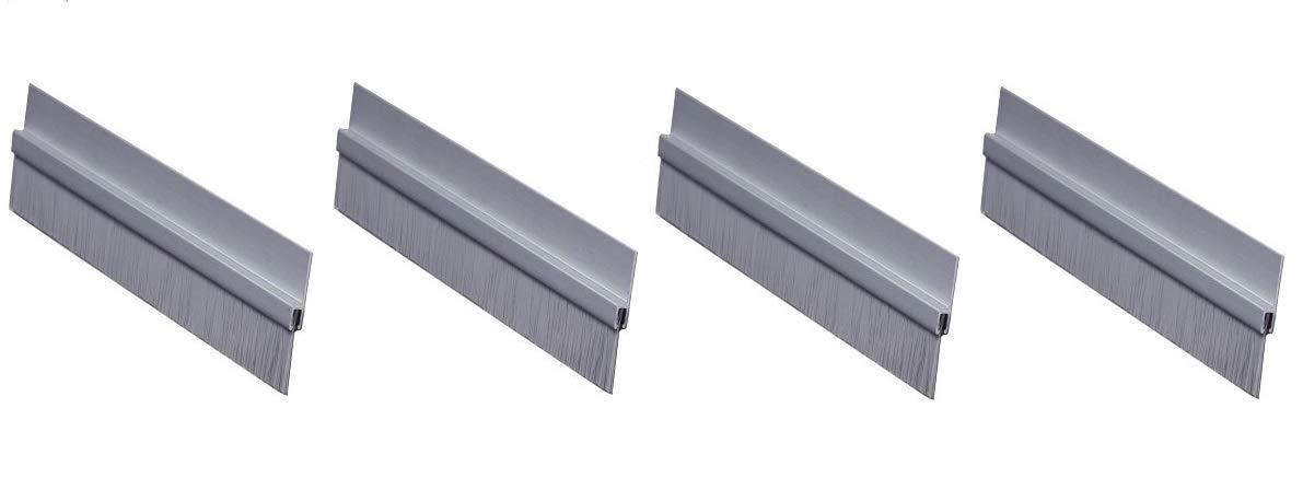 """Mill Finish Aluminum Pemko Heavy Duty Threshold 36L x 5/""""W x 0.5/""""H"""