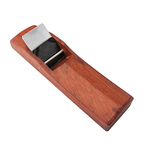 EnPoint™ Woodwork Japanese KANNA Adjustable Block Plane 62MM x 243MM Streamline Hand Planer Bench Plane Flat Base Double Edge Smooth Surface Carpenter Tool for Woodworker Table Chair Seat Leg - Edge Plane