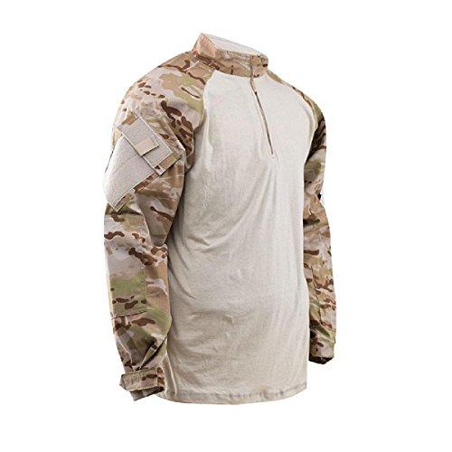 Atlanco Tru-Spec Truspec-tru Combat 1/4 Zip Shirt, Arid  ...