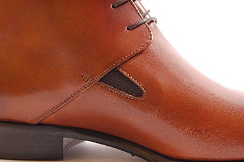 Antica Calzoleria Campana Schuhe | Mod. 1736| halbhohe Stiefelette | Kalbsleder | cognac Cognac