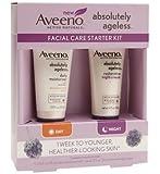 Aveeno Absolutely Ageless Facial Care Starter Kit SPF 30 Daily Moisturizer 15ml & Restorative Night Cream