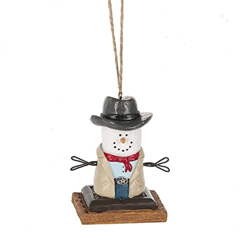 S'mores Original 2017 Texas Cowboy Ornament