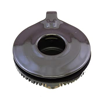 【クリックで詳細表示】リンナイ ガステーブル専用部品 バーナーキャップ【強火力バーナー用】(グレー) 151-357-000