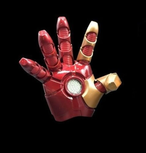 Cattoys 1/1 LED Armor Right Glove For Iron Man MK XLII 42 Cosplay New (Iron Man Cosplay Armor)
