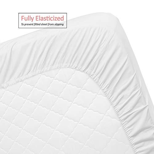 Clara Clark Premier 1800 Series 4pc Bed Sheet Set - Queen, White