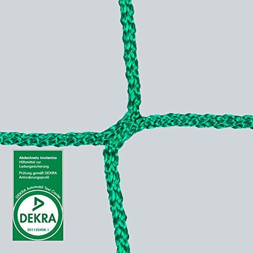 Anh/ängernetz 2,5 x 4 m DEKRA gepr/üft Maschenweite 45 mm gr/ün