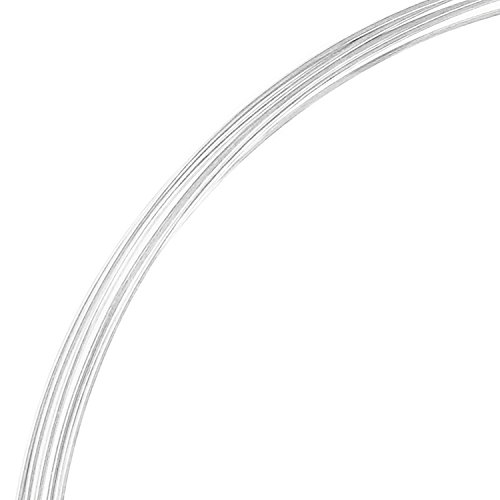 1ft .925 Sterling Silver Round Wire 14ga Dead Soft 14 Gauge 1.6mm / Jewelry Making wire/Findings