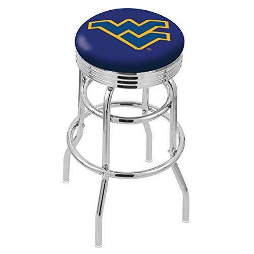"NCAA West Virginia Mountaineers 30"" Bar Stool"