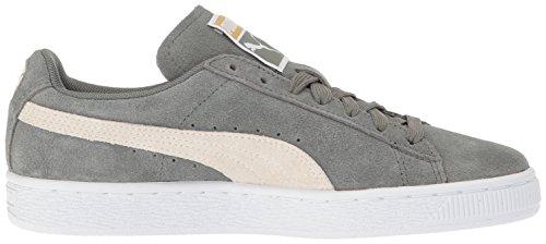 Camoscio classico donna WN'S Fashion Sneaker, Agave Green-Whisper White, 9.5 M US