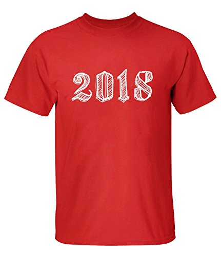 YYYYYZ 2018 Tee Shirts For Man L Red (Adrian Peterson Wall Graphic)