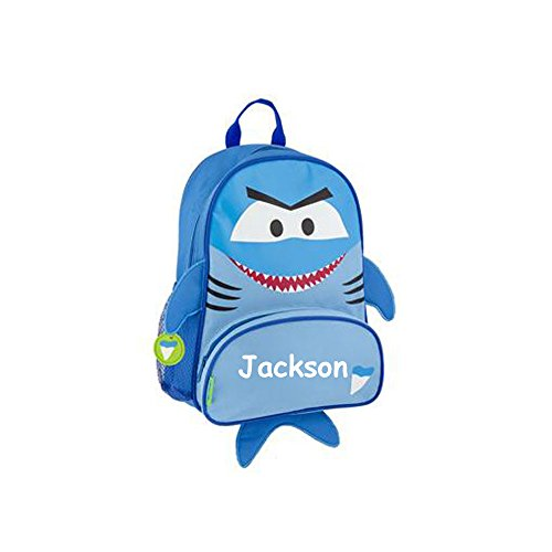 Price comparison product image Stephen Joseph Personalized Little Boys' Sidekick Shark Backpack With Name