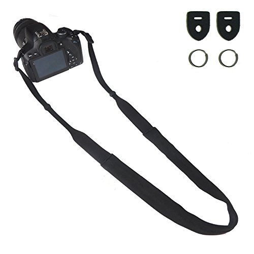 CHMETE Can be Washed Camera Neck Strap for Nikon Sony Canon - Classic One Neo Light
