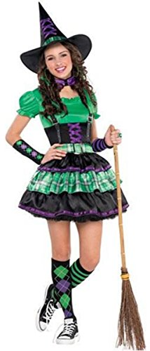 Cool Witch Costumes - WICKED COOL WITCH TEEN LARGE (11-13)