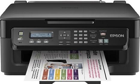 Epson Workforce WF-2510WF - Impresora multifunción (WiFi, con Capacidad de Imprimir Desde Smartphone y Tablets utilizando Epson iPrint), Color Negro: Epson: Amazon.es: Informática