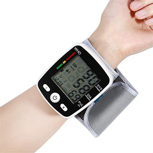 Wxnnx Adjustable Cuff Electronic Blood Pressure Monitor with USB Charging and Voice Broadcast