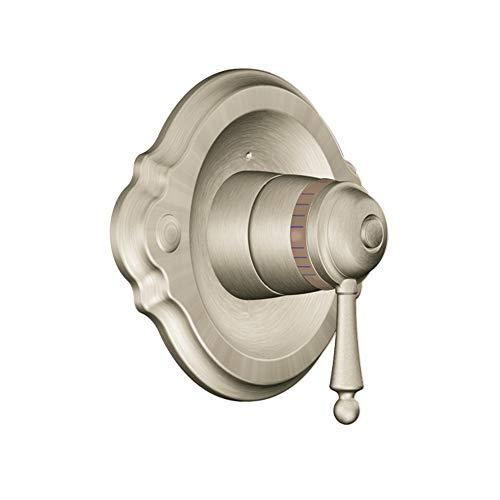 (Moen TS3110BN Waterhill ExactTemp Thermostatic Shower Valve Trim Kit, Brushed Nickel)