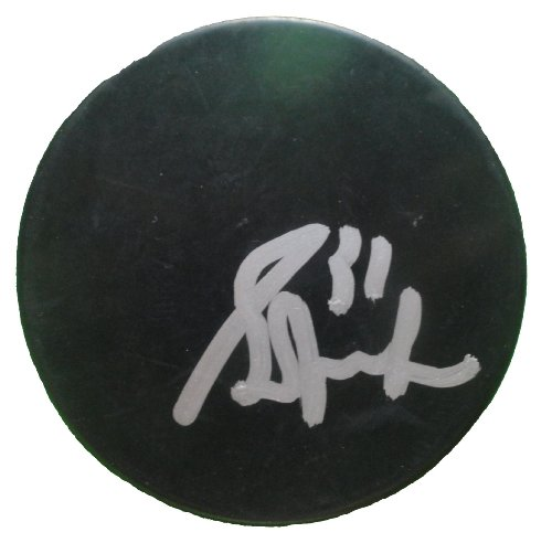 Edmonton Oilers Grant Fuhr Autographed Hand Signed Ice Hockey Puck with Proof Photo of Signing, Los Angeles Kings, Toronto Maple Leafs, COA