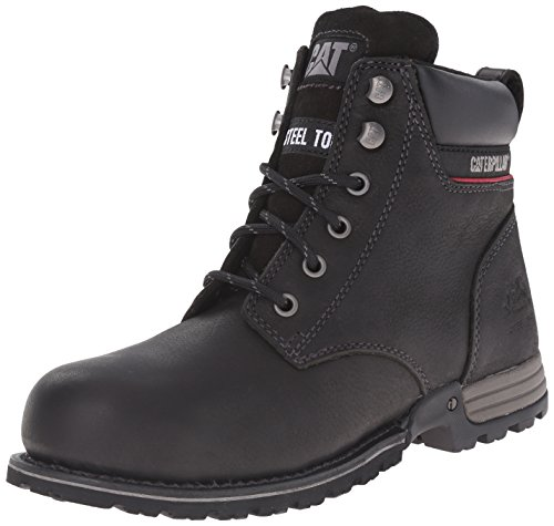 Caterpillar Women's Freedom Steel Toe Work Boot, Black, 10 M US