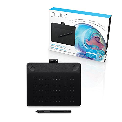 Wacom Intuos Art Pen and Touch digital graphics, drawing & painting tablet (Pen Tablet Bamboo)