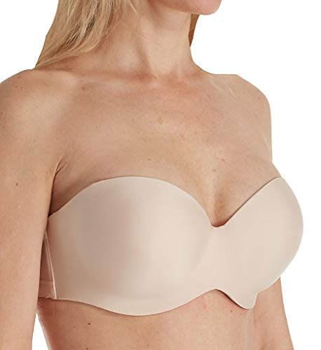 - Chantelle Women's Absolute Invisible Smooth Strapless Bra, Nude Blush, 34D
