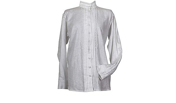 Camisa tradicional para mujer. Modelo Agolada: Amazon.es ...