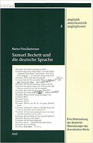 Samuel Beckett und die deutsche Sprache
