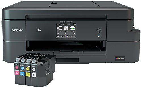 Brother MFC-J985DW Inkjet All-in-One Color Printer, Duplex, and Wireless, Amazon Dash Replenishment Enabled by Brother (Image #6)