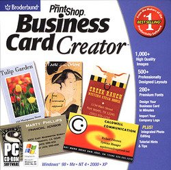 PrintShop Business Card Creator