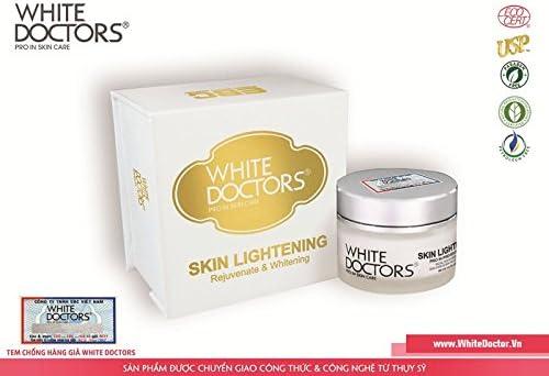 02 Boxes40ml - Kem làm trắng da mặt - Skin Lightening - WHITE DOCTORS SKIN LIGHTENING, KEM DƯỠNG TRẮNG DA CHỐNG LÃO HÓA