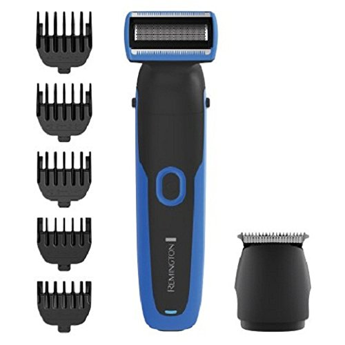 Remington Lithium Power Wetech Face   Body Groomer Kit  6 Pc  Pg6255