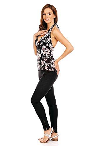 Mia Suri - Vestido - para mujer Black/Grey/White Floral