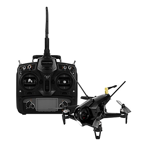 SWAGTRON SwagDrone 150-UP FPV Racing Drone HD Camera RTF Ready to Fly Quadcopter High Speed 5.8Ghz Carbon Fiber