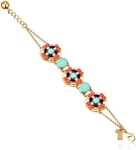Kate Spade New York Womens Jeweled Tile Bracelet