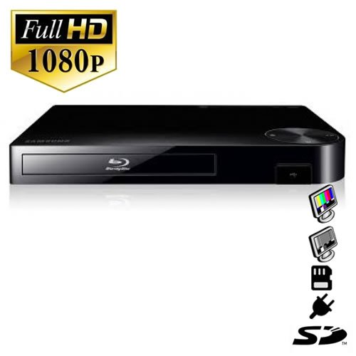 SecureShot HD 1080P X 720 NIGHT VISION BLURAY DVD PLAYER ...