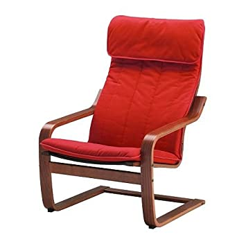 Groovy Ikea Poang Chair Armchair With Cushion Cover And Frame Short Links Chair Design For Home Short Linksinfo